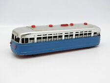 Sanchis Spain Plastique 1/55 - Autobus Trolley Bus Bleu