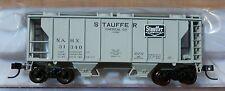 Atlas TM N #50001830 Stauffer Chemical PS-2 2-Bay Covered Hopper Rd #31340