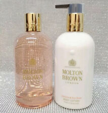 Molton Brown Jasmine & Sun Rose Bath & Shower Gel + Body Lotion Set 2x 300ml