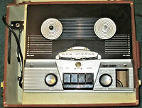 RCA Victor Reel to Reel Player Rare Vintage Recording Microphone