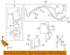 MAZDA OEM 12-15 5 Pump Hoses-Steering-Bracket C51332603