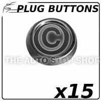 Fasteners Plug Buttons 25 MM Renault Avantime-Master Part Number: 743 15 Pack