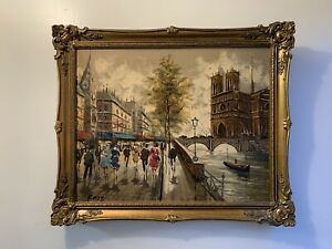 Certified Original Rocco Oil Painting c1890