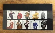 GB 2012 Great British Fashion stamp set. UNMOUNTED MINT/MNH
