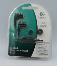 Logitech H165 Notebook Headset for PCs, MP3 and DVD players - New