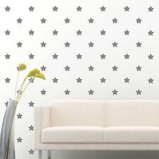 "105 of 3"" Silver Star DIY Decor Removable Peel Stick Wall Vinyl Decal Sticker"