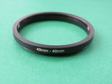 49mm-46mm Stepping Step Down Male-Female Lens Filter Ring Adapter 49mm-46mm