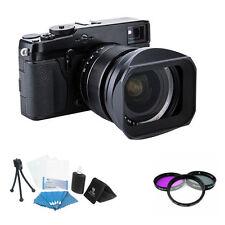 LH-JXF16 Lens hood For Fujinon XF 16mm F1.4 R WR Fuji Black + Filter kit LH-XF16