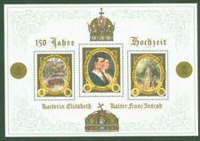 Gestempelte Briefmarken aus Österreich mit Königshäuser-Motiv