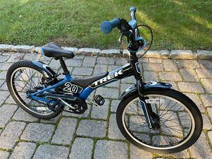 Trek Jet 20 boys blue mountain bike childs aluminum road bicycle BMX small