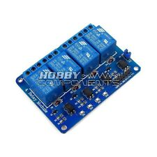 **Hobby Components UK** Arduino 4 Channel 5V Relay Module Expansion Board