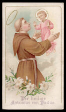 St. Anthony Of Padua Antique Holy Card