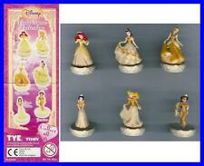 SET 6 Figure PRINCIPESSE DISNEY Dorate GOLD Princess ORIGINALI TOMY Super Prezzo