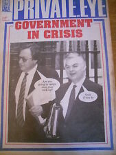 PRIVATE EYE MAGAZINE NUMBER 803 SEPT 92 GOVERNMENT IN CRISIS NORMAN LAMONT
