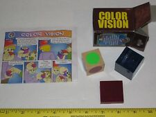 Color Vision Box Magic Trick - Classic Close Up Mentalism, Pocket / Street Magic