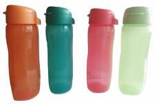Tupperware Aquasafe FlipTop Water Bottle Set, 500ml, Set of 4, Multi-color RG228