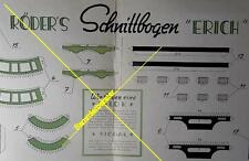 Ausschneidebogen Papier-Modell E-Lokomotive um 1935 (21311)
