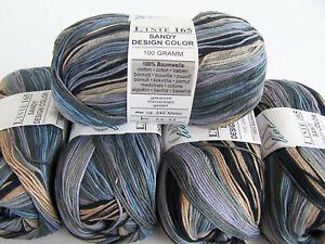 500g (4,00€/100g) ONLine LINIE 165 SANDY DESIGN COLOR - 100% Baumwolle Fb342