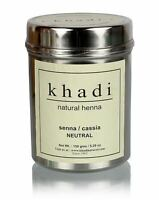 Khadi Natural Henna (Senna / Cassia) NEUTRAL Hair Colour 150gm free ship