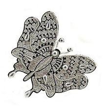 Bijou de peau tatoo papillon body art bindi B386