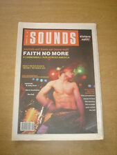 SOUNDS 1990 FEBRUARY 3 FAITH NO MORE CHARLATANS ADAMSKI DAVE MUSTAINE MISSION