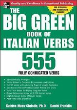 The Big Green Book of Italian Verbs Maes-Christie, Katrien Paperback