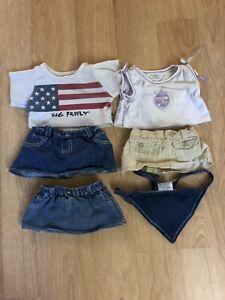 Build A Bear Clothes Shirt Shirts Skirt Clothing Lot