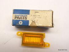 NOS MoPar 1970-1971 Plymouth Cuda Fury  FRONT MARKER LITE AMBER LENS pn 3403622