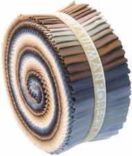 LARGE Fabric Jelly Roll 41 strips RU233-41 Robert Kaufman Kona Neutrals