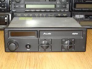 Audi Alpha Hitachi KM-1076A Vintage Cassette Car Stereo w. Bluetooth 80 90 100