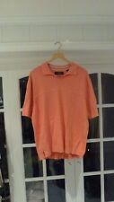 Callaway Golf Women Orange Shirt Size XL