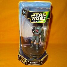 1997 Hasbro STAR WARS EPIC FORCE le Kenner Collection BOBA FETT figure boxed