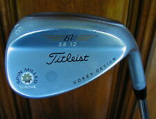 Titleist Vokey SM4 Spin Milled Satin 58.12 58* Lob Wedge Steel Shaft