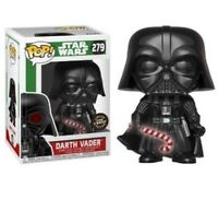 Rare Star Wars Darth Vader Glow GITD Chase Funko Pop Vinyl New in Mint Box +P/P
