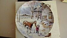 Bradford Exchange Collectors Plate - Trusted companion - 1990