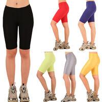 Women's Nylon Biker Shorts Stretch Shorts Yoga Fashion Spandex Sparkle