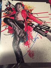 Shinsuke Nakamura NXT WWE Wrestling SIGNED Authentic Autograph 11X14 PHOTO