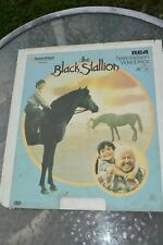 Vtg CED Video Disc Untested ''THE BLACK STALLION'' Mickey Rooney