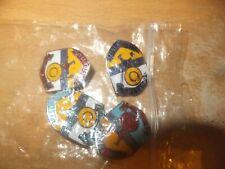 More details for 9 mixed bags of collectable clacton butlin badges