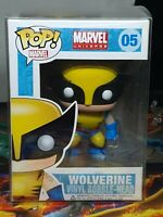 Marvel Universe Wolverine Pop #05 Vinyl Bobble-Head Figure Funko Aus Seller