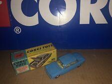 CORGI TOYS 229 Chevrolet Corvair Original Blue With Cream Interior White Grill