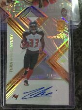 JEREMY McNICHOLS 2017 ELITE TURN OF THE CENTURY ROOKIE AUTO GOLD SP 8/10