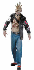 Morris Costume Men's New Punk Zombie Classic Polyester Costume One Size. RU16461