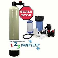 """Scale Stop Water Conditioner~Scale Removal - 16 GPM Includes 4.5""""x10"""" Pre Carbon"""