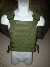 ballistic vest body armor bullet proof vest plate carrier with armor 10x12 OD!