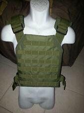 ballistic vest body armor bullet proof vest plate carrier with armor 10x12 OD!