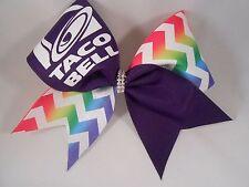 Cheer Bow Taco Bell by BlingItOnCheerBows