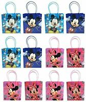 12 pcs Mickey Minnie Mouse Birthday Party Favor supplies Goody Gift candy Bags