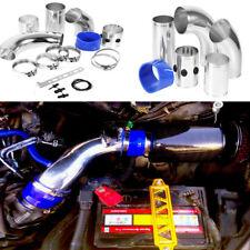 Universal Filtro de Admisión de Aire Frío Tubo de Inducción Aluminio Para Coche