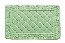 Extra Large Memory Foam Luxurious Anti-slip Bathmat Super Soft Bathroom Rug Sage